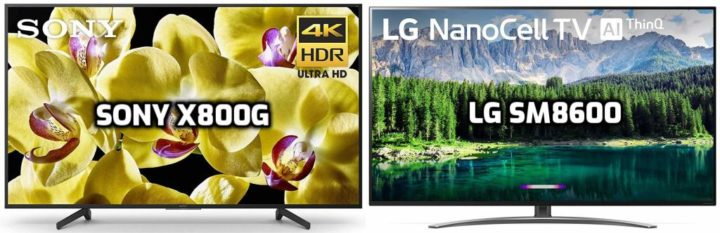 Sony X800G vs LG SM8600 Review