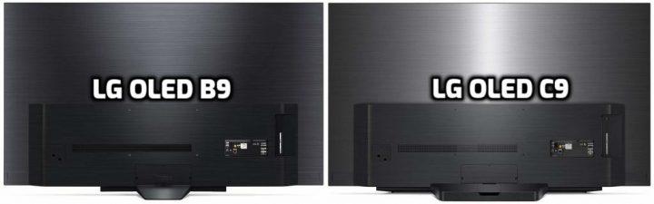 LG B9 vs C9 Back