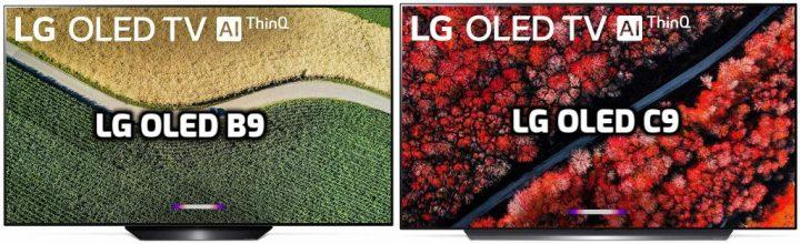 LG OLED B9 vs OLED C9 Review