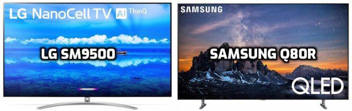 LG SM9500 vs Samsung Q80R