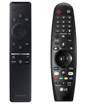 Samsung Remote vs LG MagiC Remote