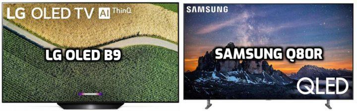 LG OLED B9 vs Samsung Q80R Review