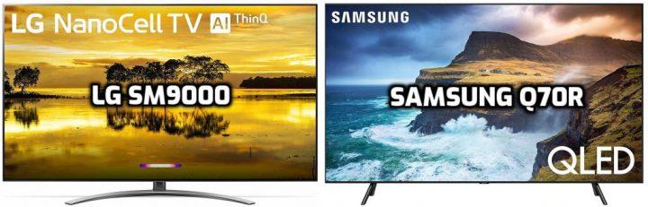 Samsung Q70R vs LG SM9000 Review
