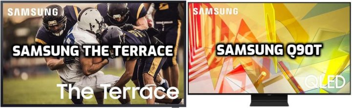 Samsung the Terrace vs Q90T
