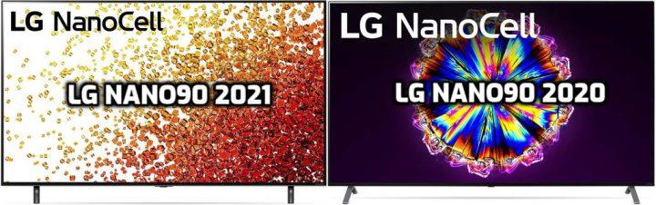 LG NANO90 2021 vs NANO90 2020